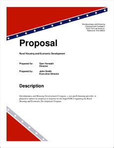 Dissertation Proposal Template 14 Free Sample, Example